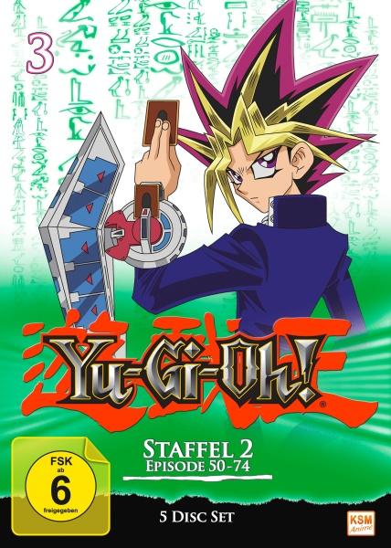 Yu-Gi-Oh! - Staffel 2.1: Episode 50-74 (5 DVDs)