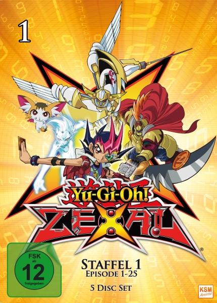 Yu-Gi-Oh! Zexal - Staffel 1.1: Episode 01-25 (5 DVDs)