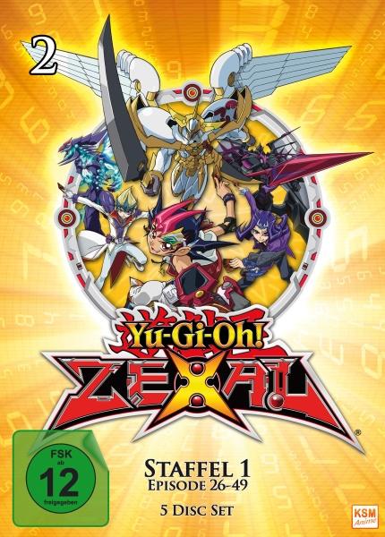 Yu-Gi-Oh! Zexal - Staffel 1.2 - Episode 26-49 (5 DVDs)