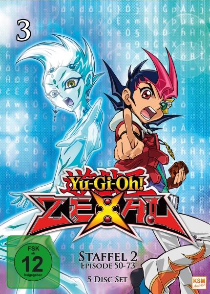 Yu-Gi-Oh! Zexal - Staffel 2.1 - Episode 50-73 (5 DVDs)