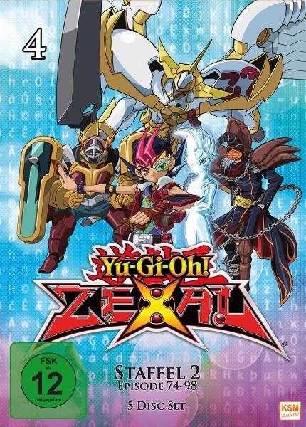 Yu-Gi-Oh! Zexal - Staffel 2.2 - Episode 74-98 (5 DVDs)