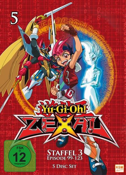 Yu-Gi-Oh! Zexal - Staffel 3.1 - Episode 99-123 (5 DVDs)