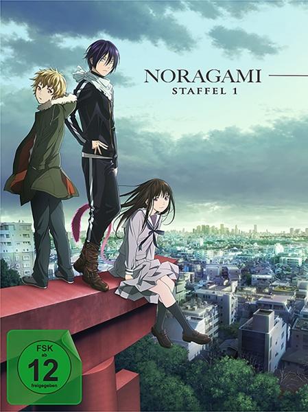 Noragami - Staffel 1: Folge 01-12 (2 DVDs) (exkl. Shop+Amazon+MSH)