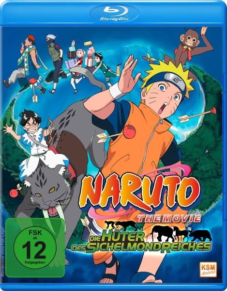 Naruto - Die Hüter des Sichelmondreiches - The Movie 3 (Blu-ray)