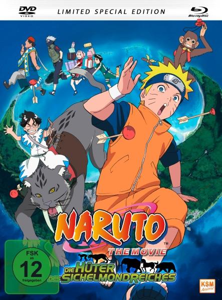 Naruto - Die Hüter des Sichelmondreiches - The Movie 3 - Limited Edition (Blu-ray+DVD)