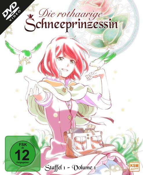 Die rothaarige Schneeprinzessin - Staffel 1, Volume 1: Episode 01-04 (DVD)