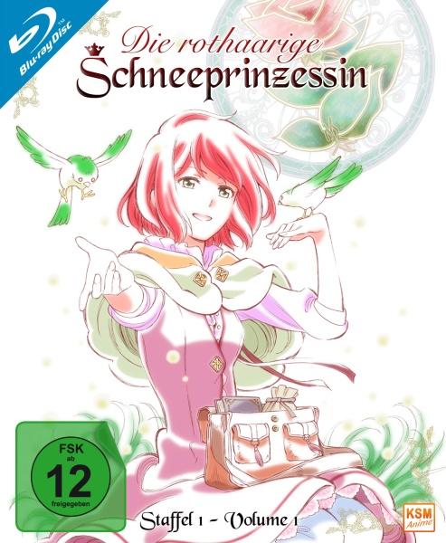 Die rothaarige Schneeprinzessin - Staffel 1, Volume 1: Episode 01-04 (Blu-ray)