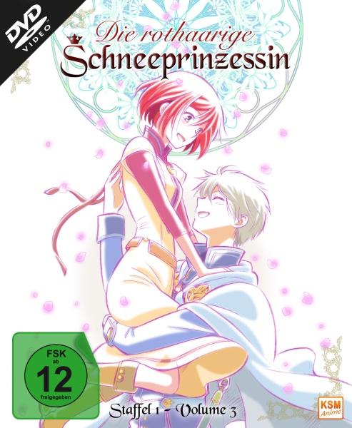 Die rothaarige Schneeprinzessin - Staffel 1, Volume 3: Episode 09-12 (DVD)
