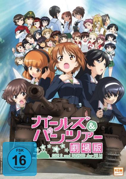 Girls und Panzer: Der Film (DVD)
