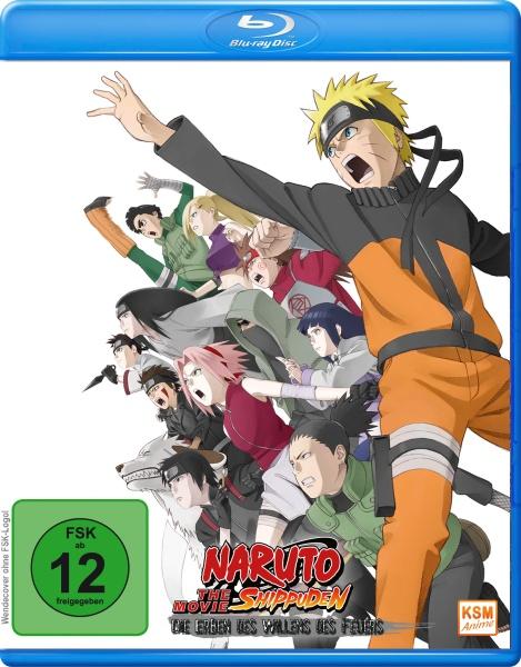 Naruto Shippuden - Die Erben des Willens des Feuers - The Movie 3 (Blu-ray)