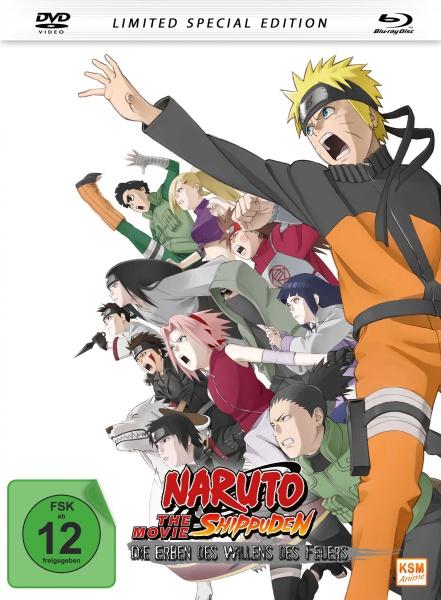Naruto Shippuden - Die Erben des Willens des Feuers The Movie 3 - Limited Edition (Blu-ray+DVD)