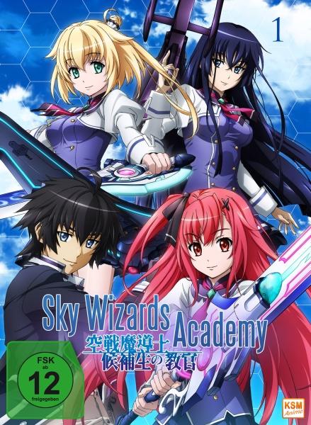 Sky Wizards Academy - Volume 1: Episode 01-06 (DVD)