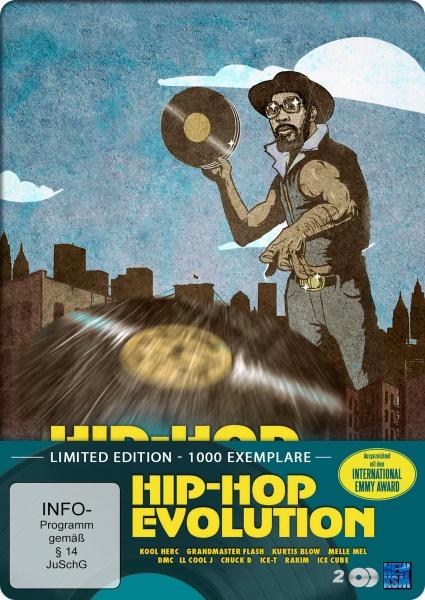Hip Hop Evolution - Limited Edition (2 DVDs)