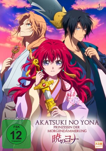 Akatsuki no Yona - Prinzessin der Morgendämmerung - Volume 1: Episode 01-05 (Sammelschuber) (DVD)