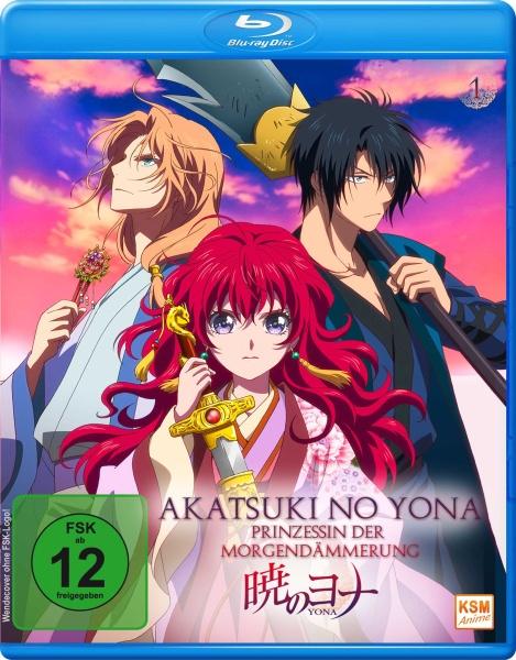 Akatsuki no Yona - Prinzessin der Morgendämmerung Volume 1: Episode 01-05 (Sammelschuber) (Blu-ray)