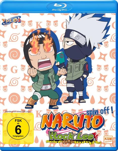 Naruto Spin - Off! Rock Lee und seine Ninja Kumpels - Volume 03: Episode 27-39 (2 Blu-rays)