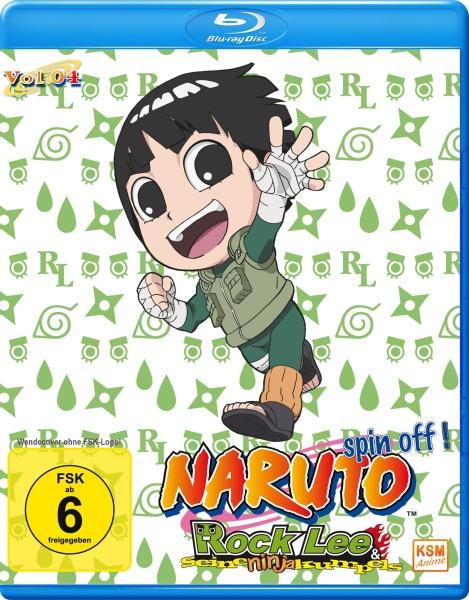 Naruto Spin - Off! Rock Lee und seine Ninja Kumpels - Volume 04: Episode 40-51 (2 Blu-rays)