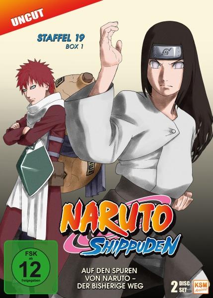 Naruto Shippuden - Auf den Spuren von Naruto - Der bisherige Weg - Staffel 19.1: Episode 614-623 (3 DVDs)