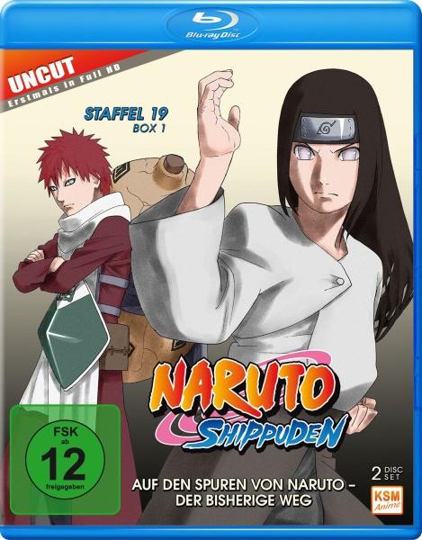 Naruto Shippuden - Auf den Spuren von Naruto - Der bisherige Weg - Staffel 19.1: Episode 614-623 (2 Blu-rays)