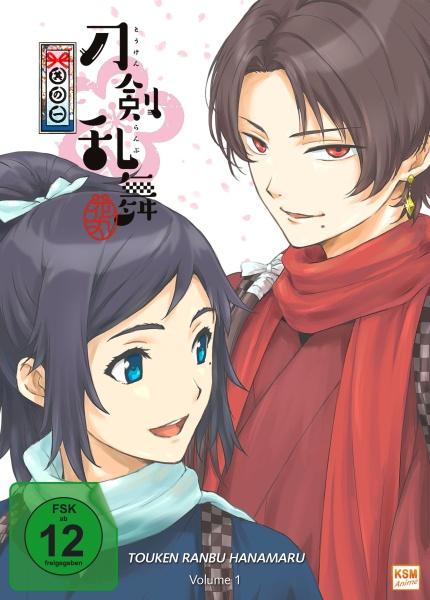 Touken Ranbu Hanamaru - Volume 1 - Episode 01-04 (DVD)