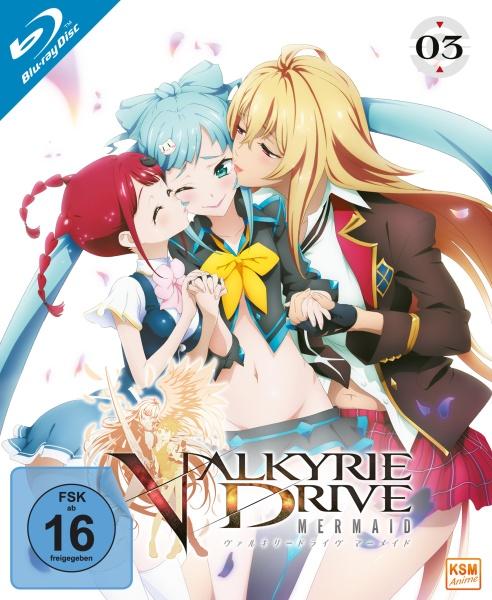 Valkyrie Drive - Mermaid - Volume 3 - Episode 09-12 (Blu-ray)