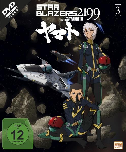 Star Blazers 2199 - Space Battleship Yamato - Volume 3 - Episode 12-16 (DVD)