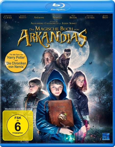 Das magische Buch von Arkandias (Blu-ray)