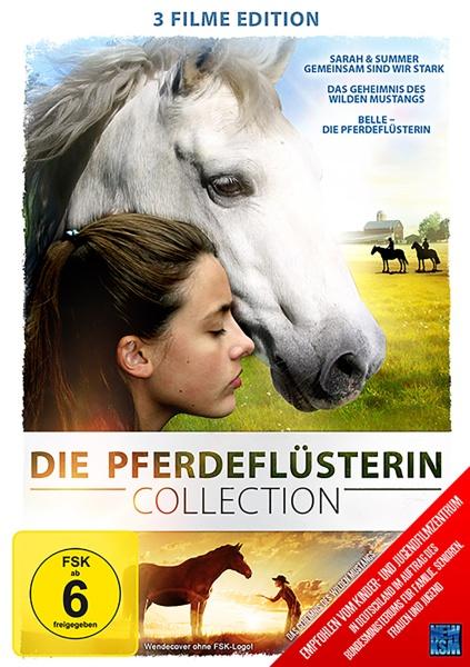 Die Pferdeflüsterin - Sarah und Summer, Das Geheimnis des Wilden Mustangs, Belle - Die Pferdeflüsterin - 3auf1 Collection (DVD)
