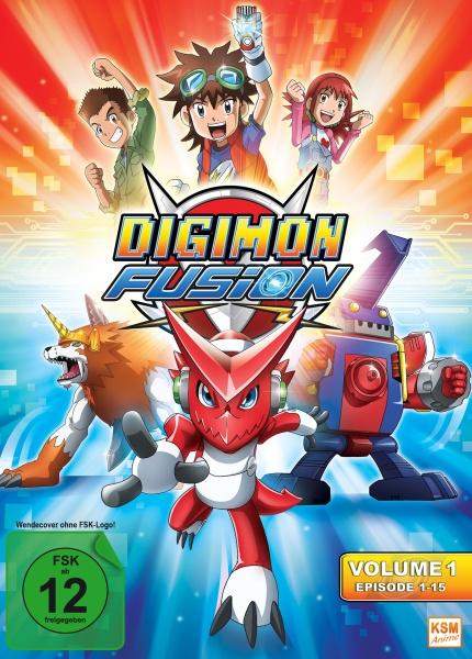 Digimon Fusion - Volume 1 - Episode 01-15 (3 DVDs)
