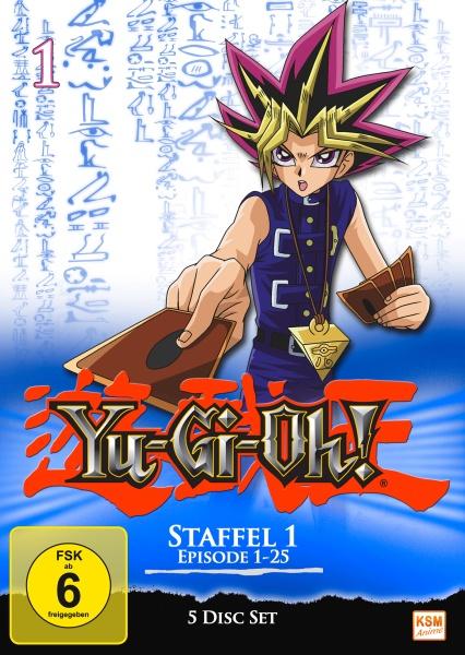 Yu-Gi-Oh! - Staffel 1.1: Episode 01-25 (5 DVDs)
