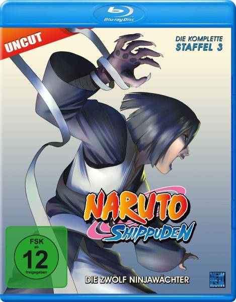 Naruto Shippuden - Die zwölf Ninjawächter - Staffel 03: Folge 274-291 (Blu-ray)