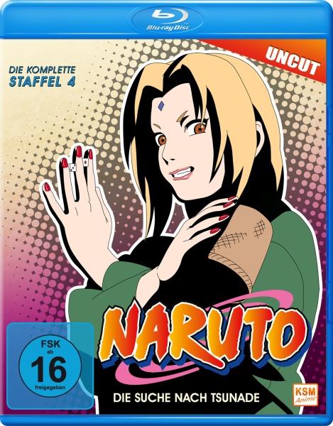 Naruto - Die Suche nach Tsunade - Staffel 4: Folge 81-106 (Blu-ray)