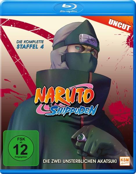 Naruto Shippuden - Die Zwei unsterblichen Akatsuki - Staffel 04: Folge 292-308 (Blu-ray)