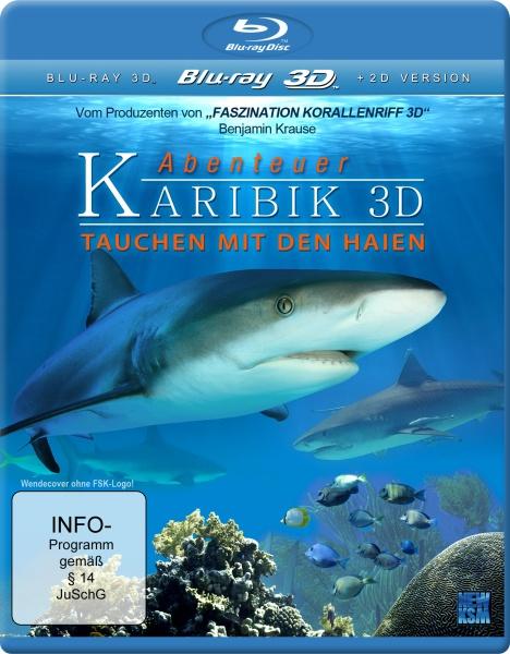 Abenteuer Karibik 3D - Tauchen mit den Haien (3D Blu-ray)