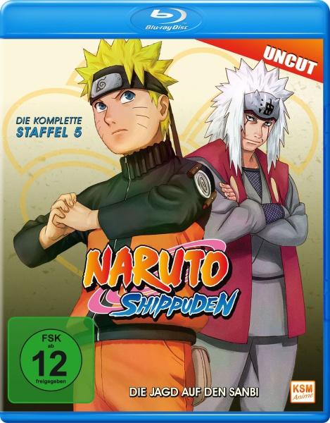 Naruto Shippuden - Die Jagd auf den Sanbi - Staffel 05: Folge 309-332  (Blu-ray)
