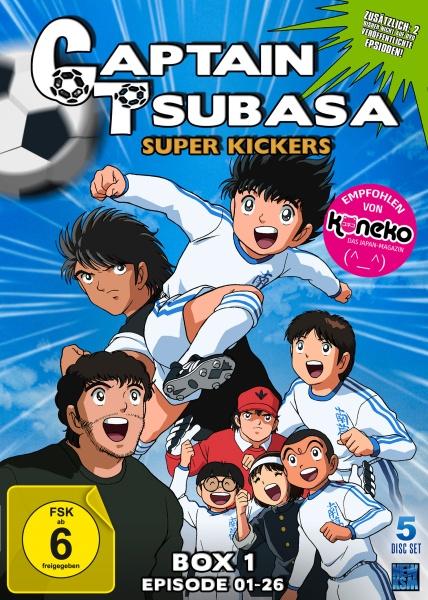 Captain Tsubasa - Super Kickers - Box 1: Folge 01-26 (5 DVDs)