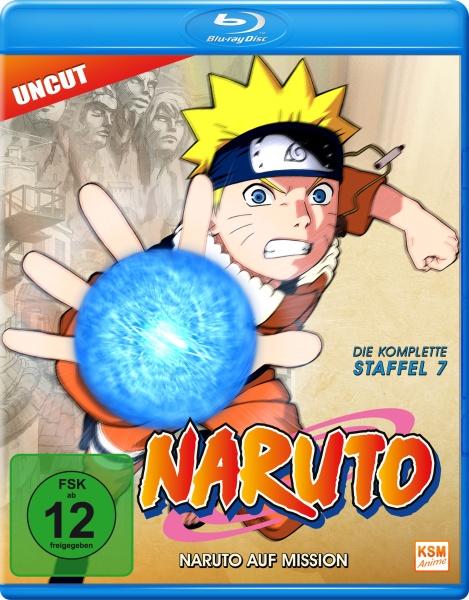 Naruto - Naruto auf Mission - Staffel 7: Folge 158-183 (Blu-ray)