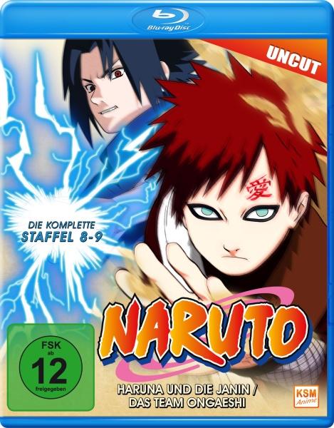 Naruto - Haruna und die Janin / Das Team Ongaeshi - Staffel 8 & 9: Folge 184-220 (Blu-ray)