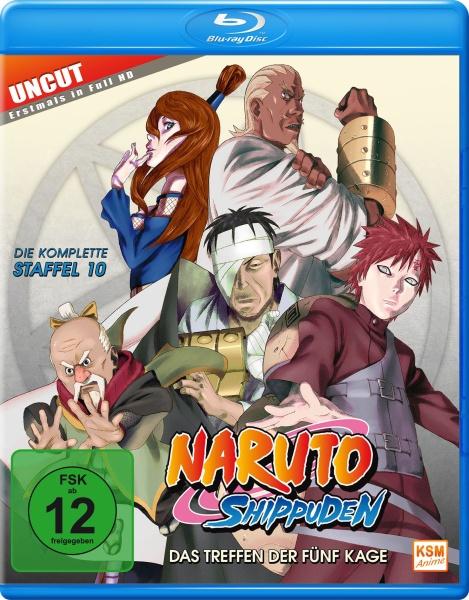 Naruto Shippuden - Das Treffen der fünf Kage - Staffel 10: Folge 417-442 (Blu-ray)