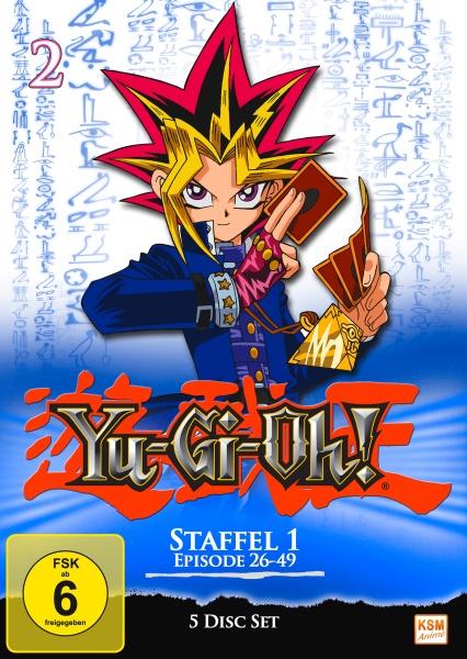 Yu-Gi-Oh! - Staffel 1.2: Episode 26-49 (5 DVDs)