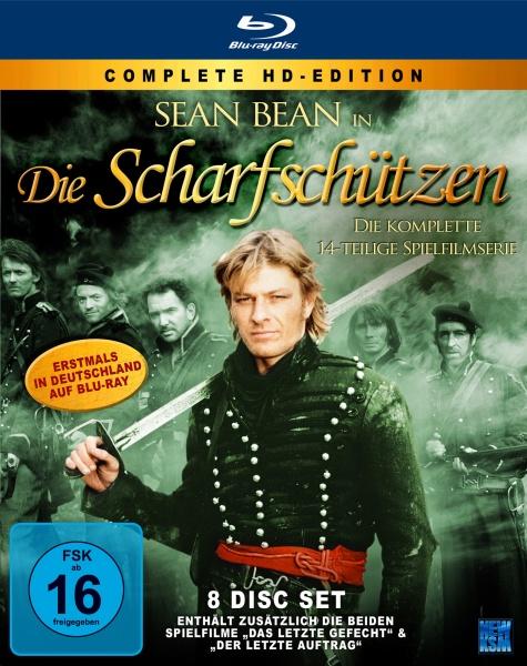 Die Scharfschützen - Blu-ray Komplett - Edition (8 Blu-rays)