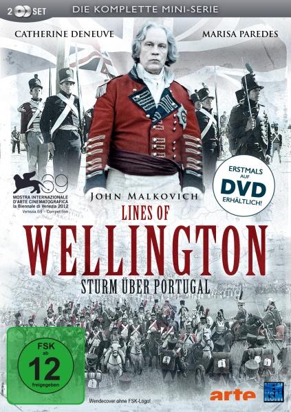 Lines of Wellington - Sturm über Portugal - Mini-Serie (2 DVDs)
