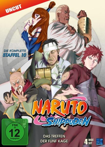 Naruto Shippuden - Das Treffen der fünf Kage - Staffel 10: Folge 417-442 (4 DVDs)