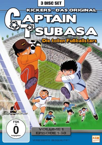 Captain Tsubasa - Die tollen Fußballstars - Volume 1: Episode 01-30 (3 DVDs)