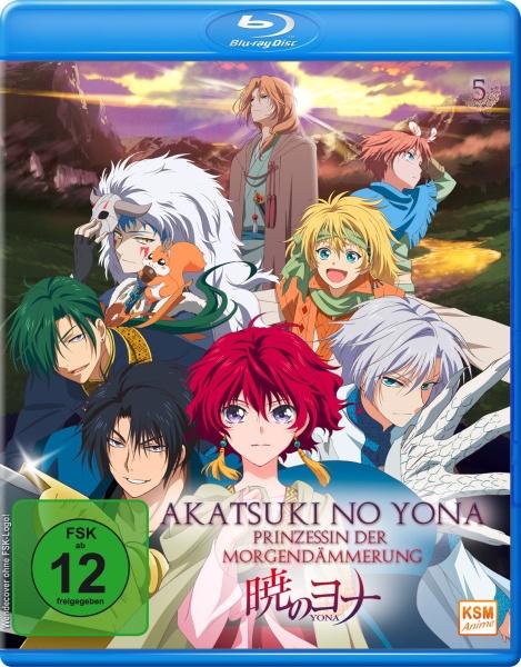 Akatsuki no Yona - Prinzessin der Morgendämmerung - Volume 5: Episode 21-24 (Blu-ray)