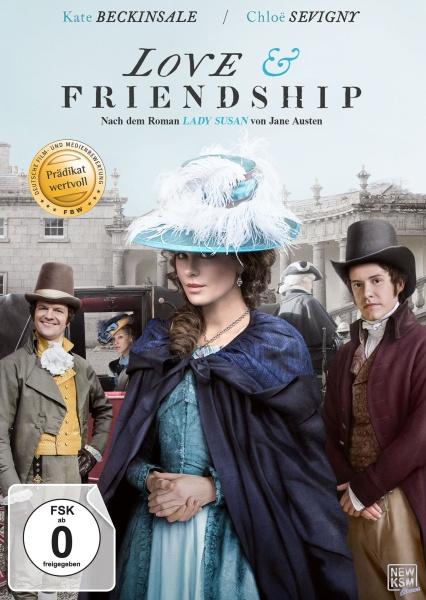 Love & Friendship - Jane Austen (DVD)