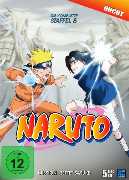 Naruto - Mission: Rettet Sasuke - Staffel 5: Folge 107-135 (5 DVDs)