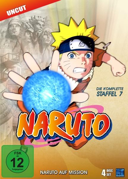 Naruto - Naruto auf Mission - Staffel 7: Folge 158-183 (4 DVDs)