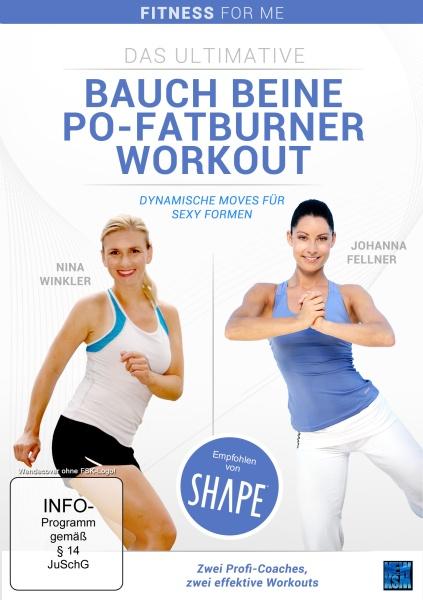 Das ultimative Bauch Beine Po - Fatburner Workout - Dynamische Moves für sexy Formen (DVD)