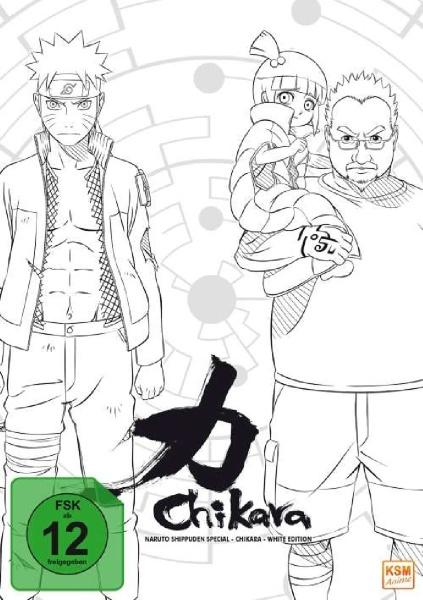Naruto Shippuden - Chikara Special - Episode 510-515 (DVD)